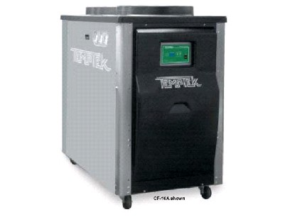 Chillers Temptek 10 Ton Air Cooled Portable Chiller Cf
