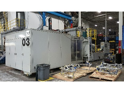 Injection Molding Machines 1996 Engel 1200 Ton 62 Oz With